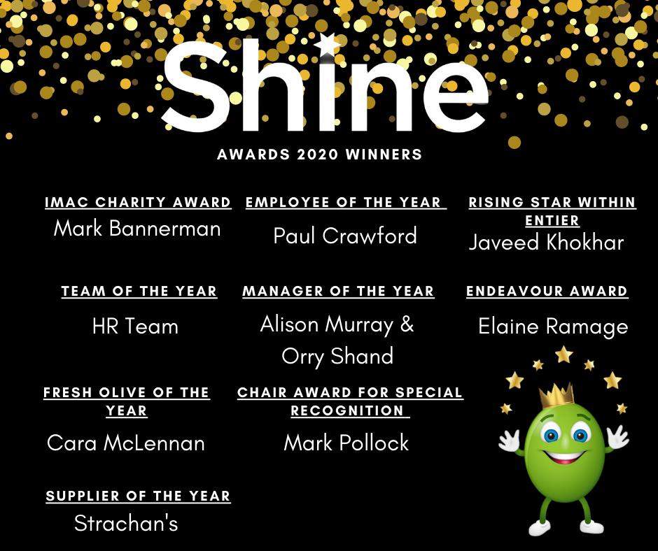 Shine Winners 2020